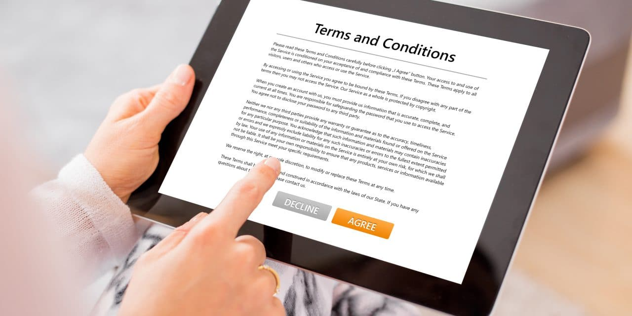 Social Media Platforms Terms and Conditions