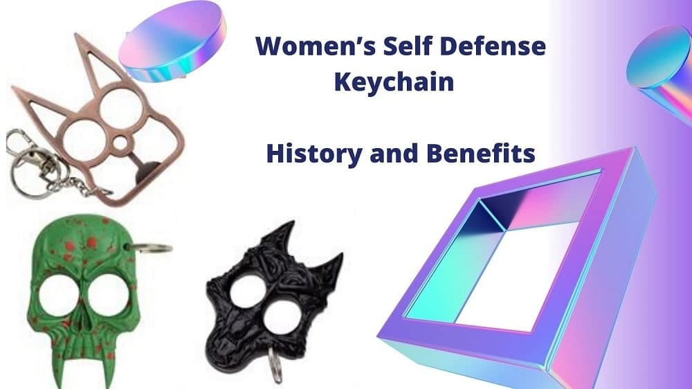 Women's Self Defense Keychain