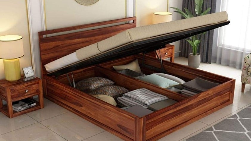 Bed With Storage: Pros