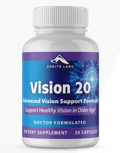 Vision 20 – Effective Eye Supplement Created By Dr. Ryan Shelton