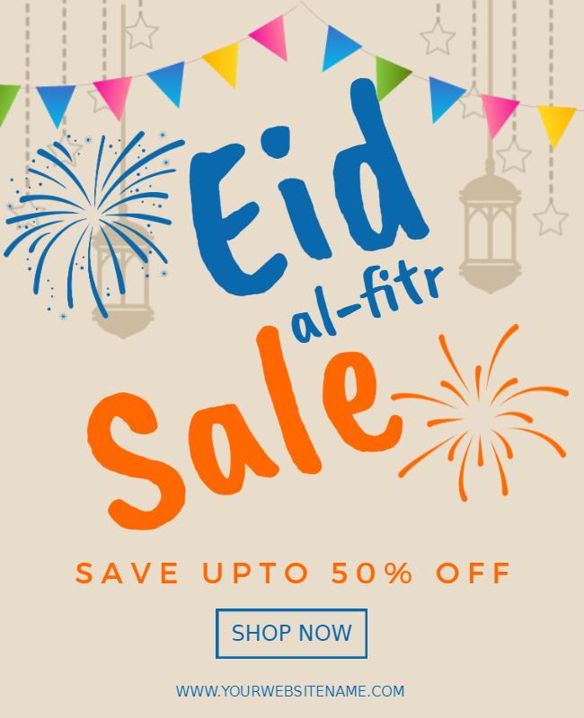 Eid Sales Poster