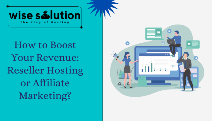 How to Boost Your Revenue Reseller Hosting or Affiliate Marketing