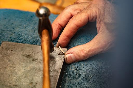 Rock Hammered Jewelry