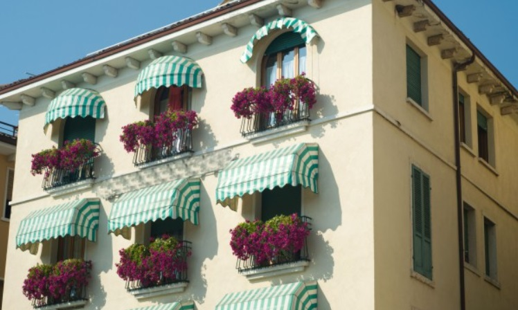 What are the different types of Awnings