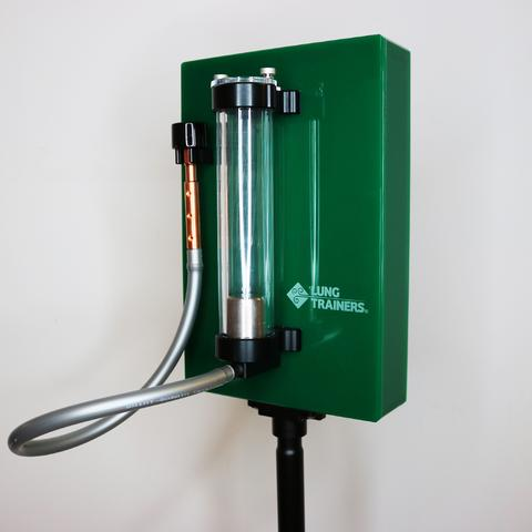 breathing training device